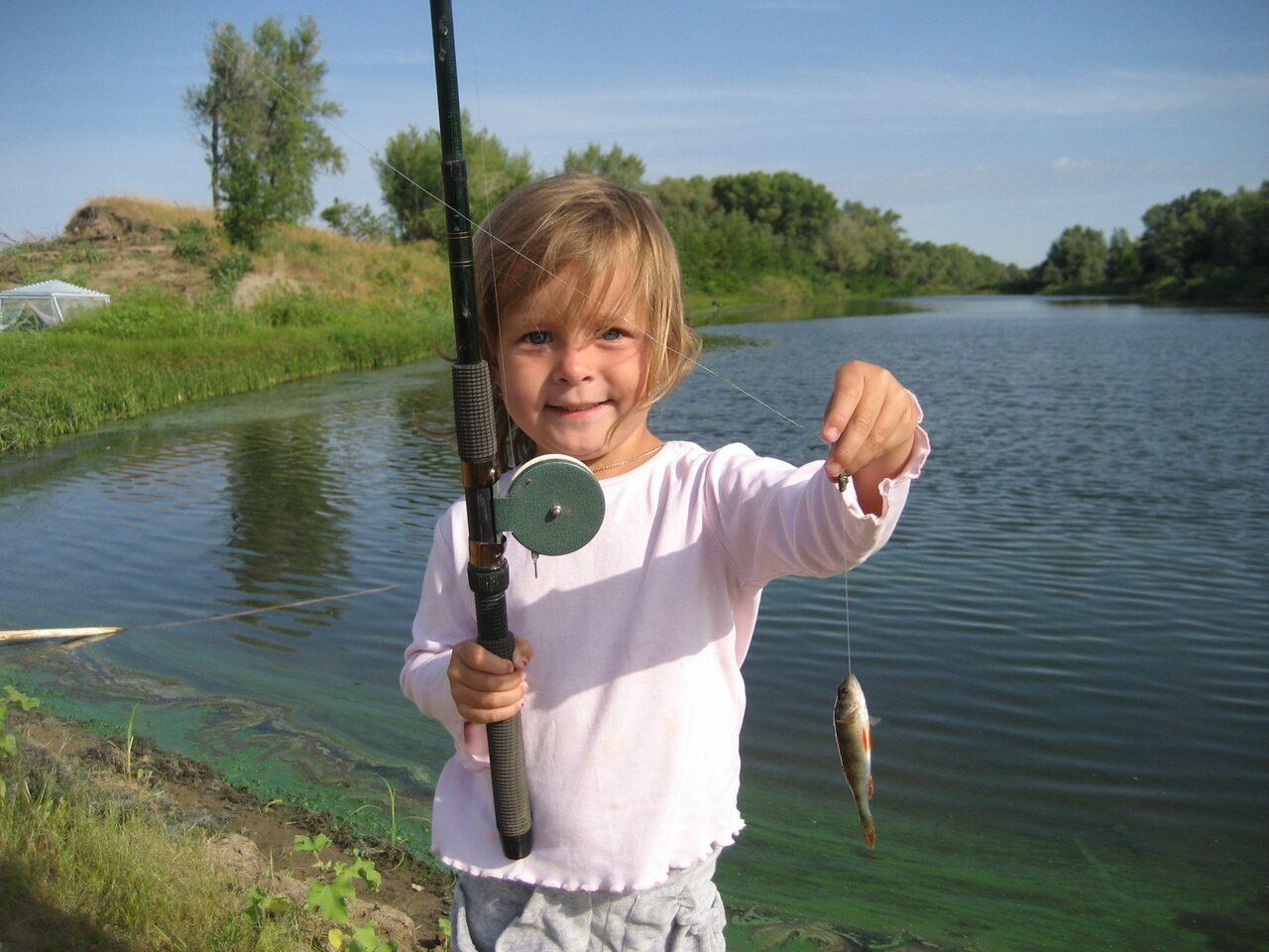 что дает рыбалка детям